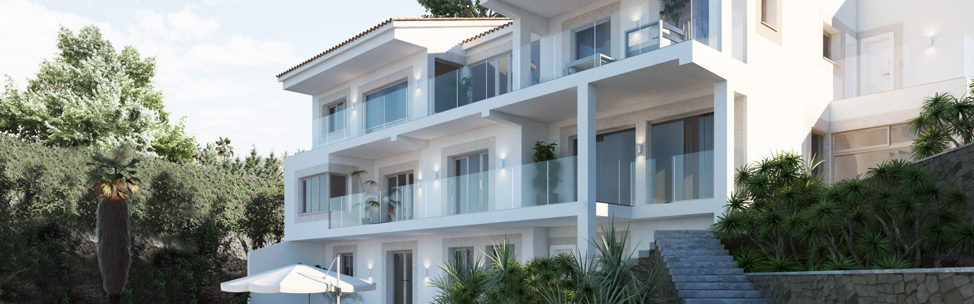 Proyecto de arquitectura vivienda nueva